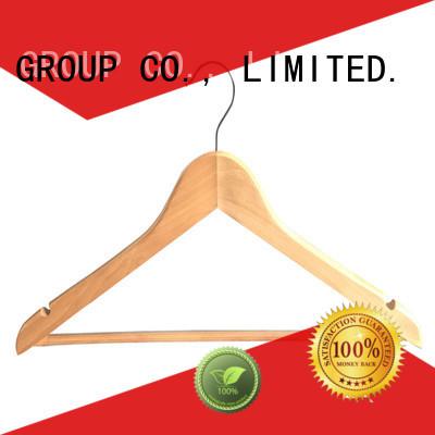 Latest best wooden coat hangers slip company for children