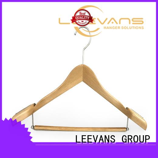 New wooden trouser hanger locking Suppliers for kids