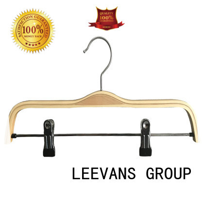 High-quality wooden coat hangers wholesale color for business for trouser