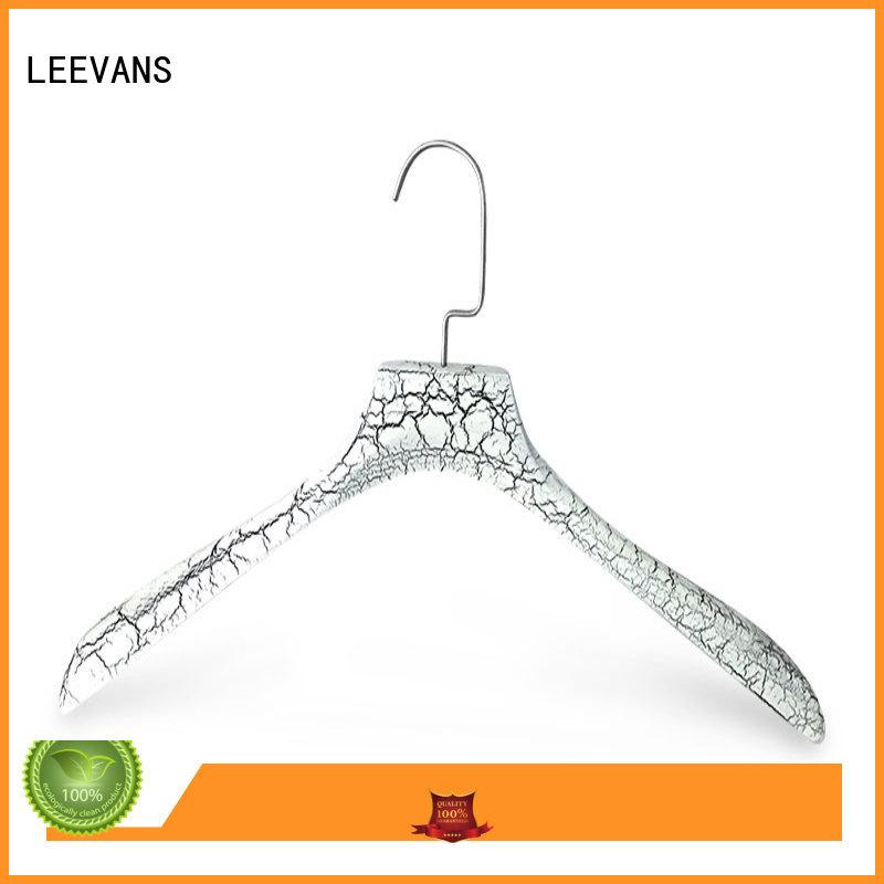 LEEVANS garment childrens wooden hangers supplier for children