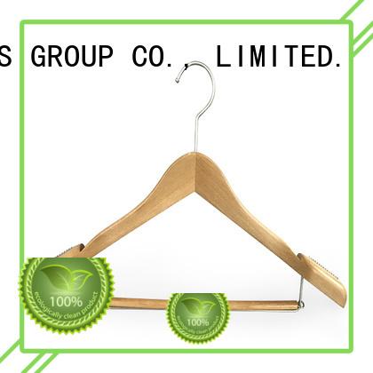 pant wooden coat hanger covered for skirt LEEVANS
