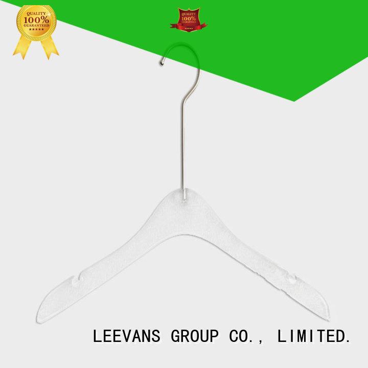 LEEVANS hook white coat hangers wholesale for trusses