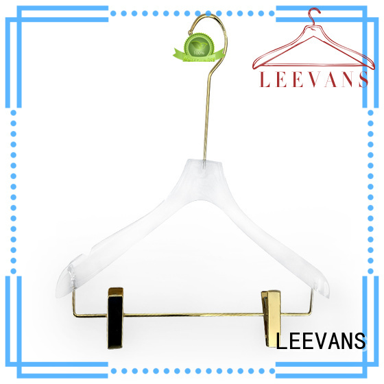 LEEVANS high grade best hangers manufacturer for T-shirts
