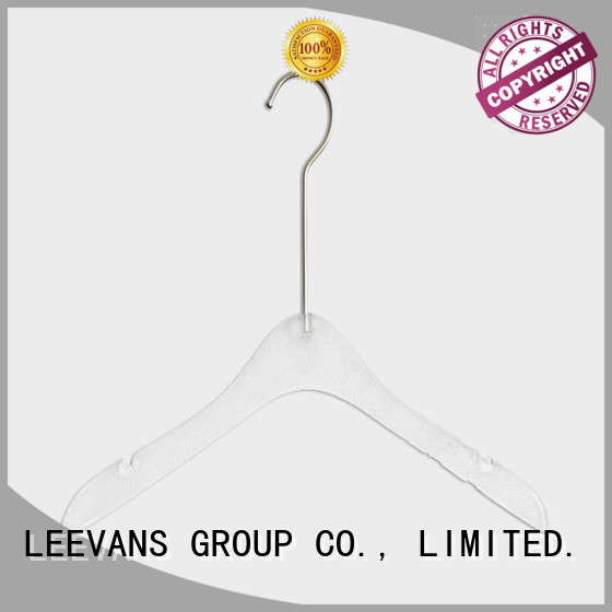 LEEVANS fashion best clothes hangers supplier for jackets