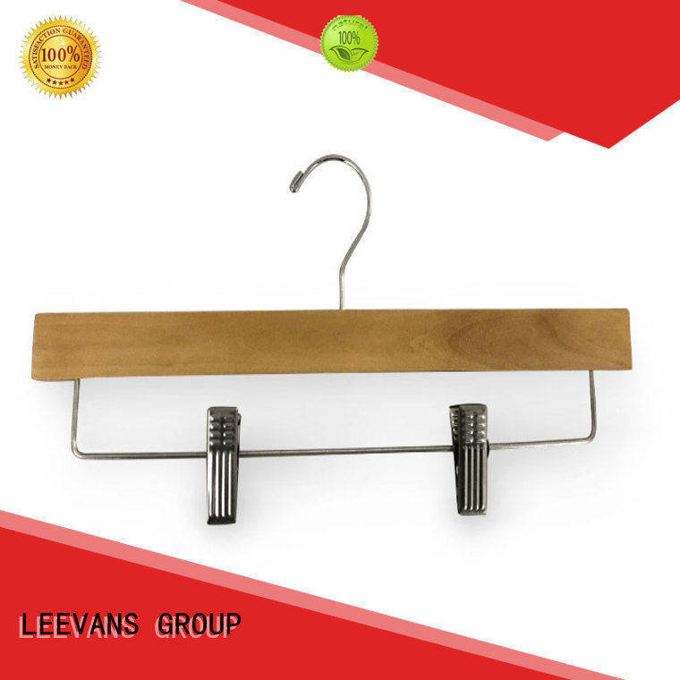 LEEVANS hook dark wood hangers manufacturers for clothes