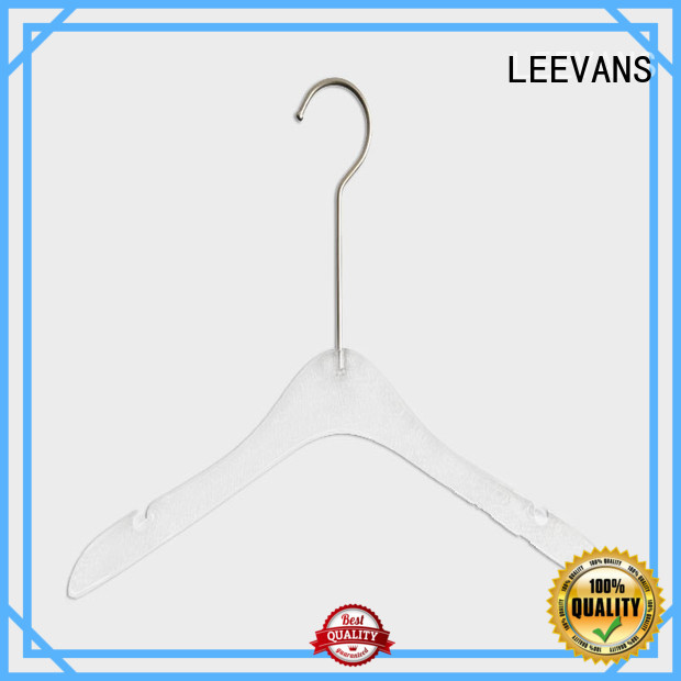 oem custom coat hangers with wide shoulder for sweaters