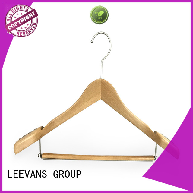 LEEVANS thin dress hanger factory for children