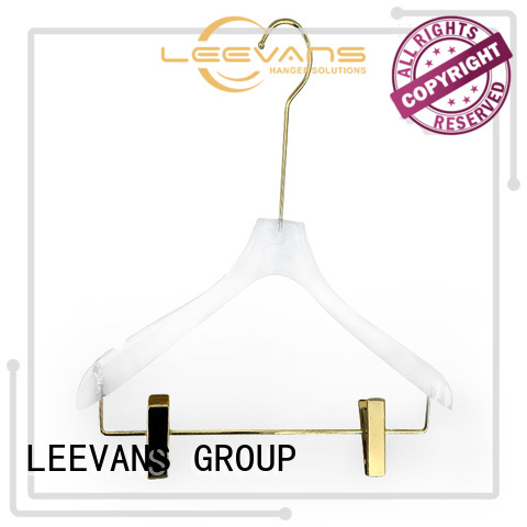 LEEVANS High-quality padded hangers for business for pant