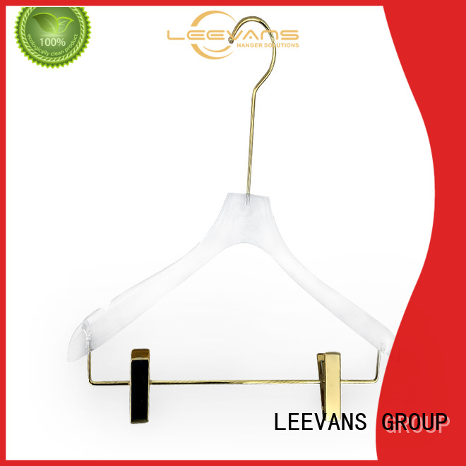 LEEVANS shoulder plastic coat hangers manufacturers for suits