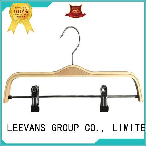 LEEVANS clamp infant hangers factory for skirt
