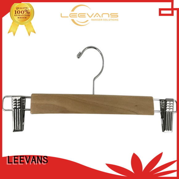 LEEVANS design best wooden coat hangers factory for children