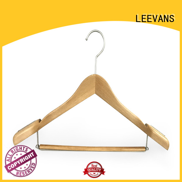 LEEVANS Wholesale timber clothes hanger Suppliers for kids