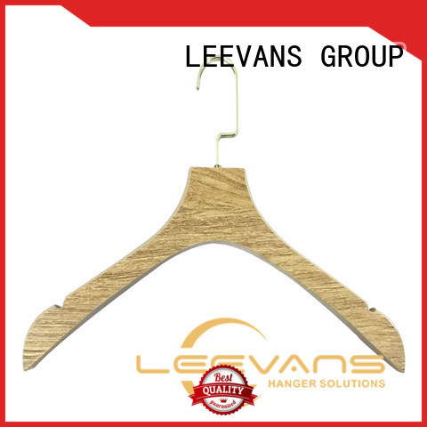 online best wooden hangers sample manufacturer for trouser
