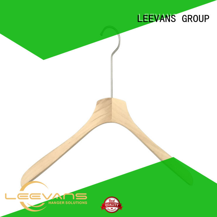 LEEVANS adjustable buy wooden hangers for business for kids