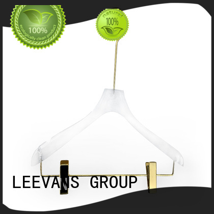 LEEVANS wide kids coat hangers Supply for suits