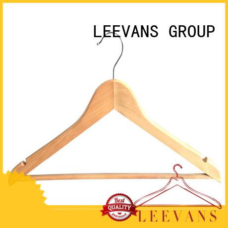 LEEVANS top wooden clothes hanger manufacturer for kids