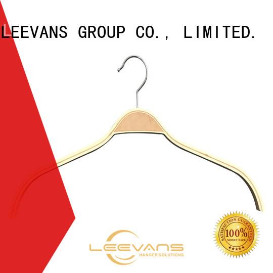 LEEVANS suits white wooden skirt hangers Supply for children