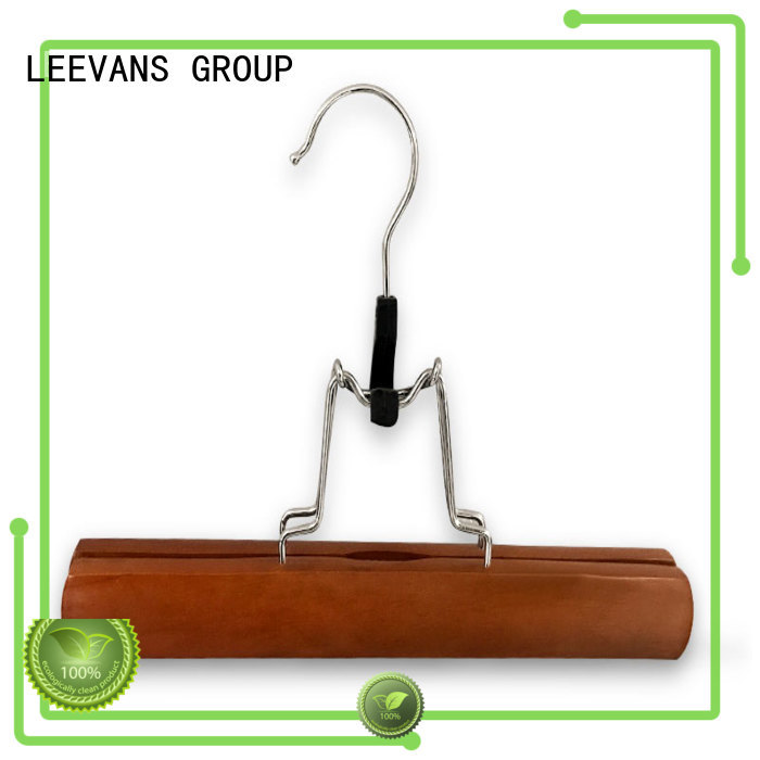 LEEVANS New hangers with clips for pants for business for children