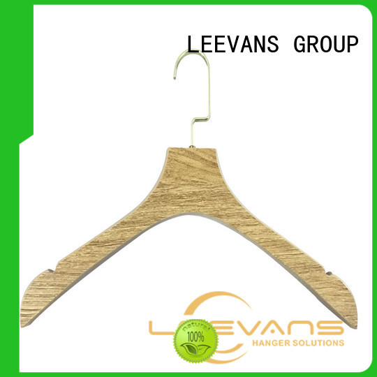 online black wooden hangers design supplier for children