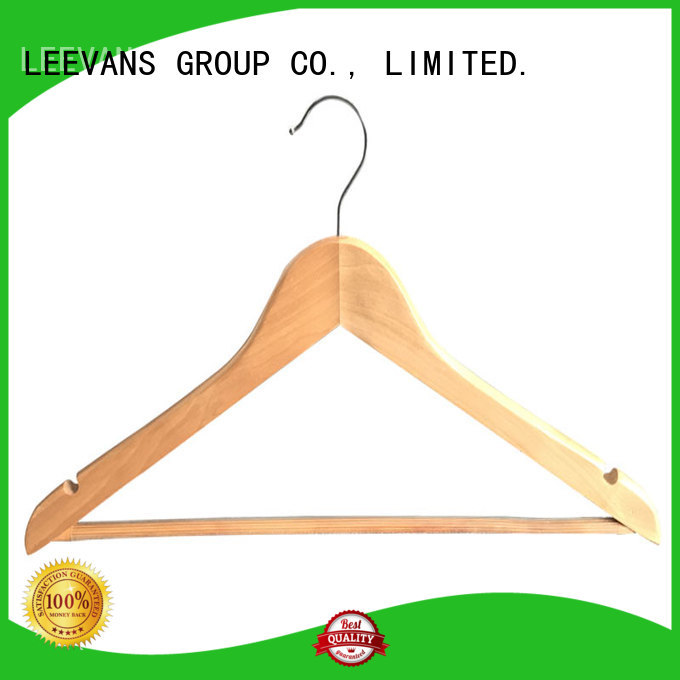 Best timber hangers pieces factory for clothes
