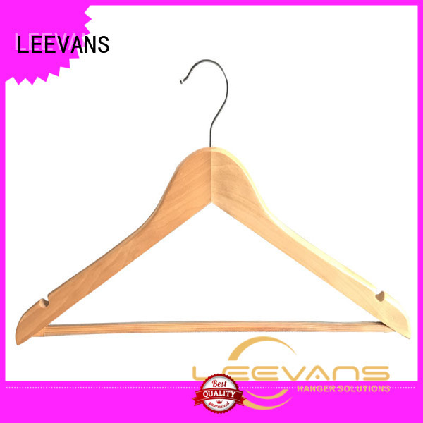 Wholesale coloured wooden coat hangers home for business for children