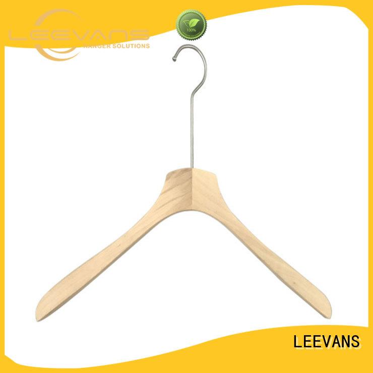 online wooden hangers garment manufacturer for trouser