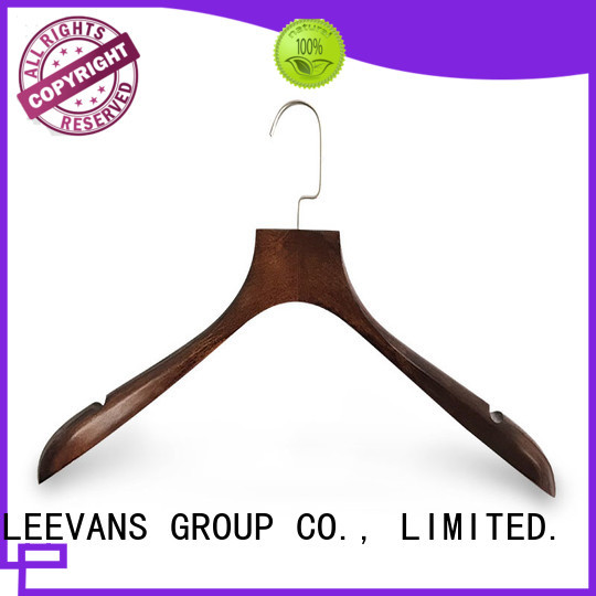 LEEVANS Best buy wooden clothes hangers for business for kids