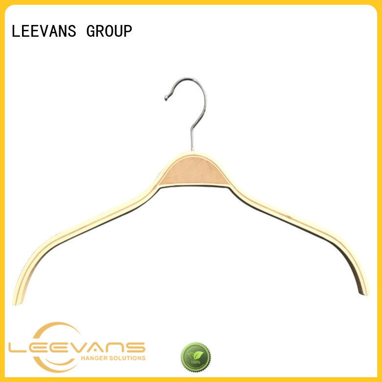 Wholesale luxury wooden hangers matte Suppliers for clothes