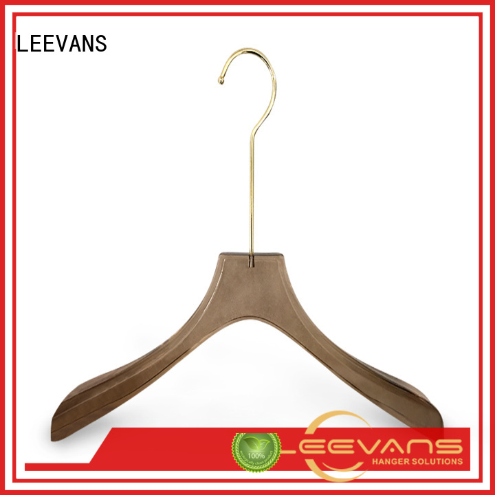 LEEVANS high grade custom hangers with names highgrade for pant