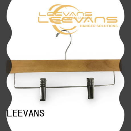 LEEVANS New wooden baby hangers manufacturers for clothes