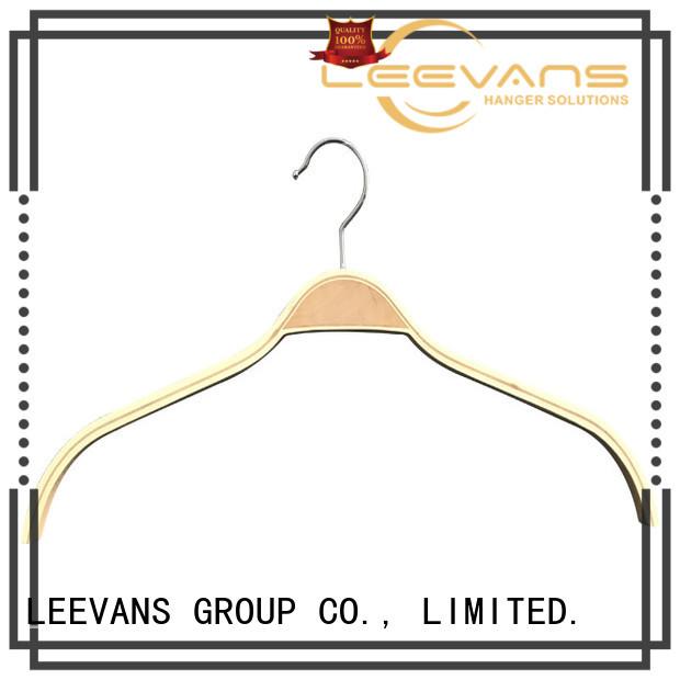 LEEVANS children wooden cloth hanger company for kids