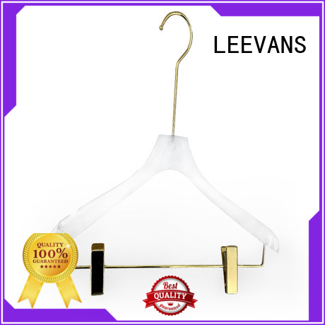 LEEVANS Custom pretty clothes hangers company for suits