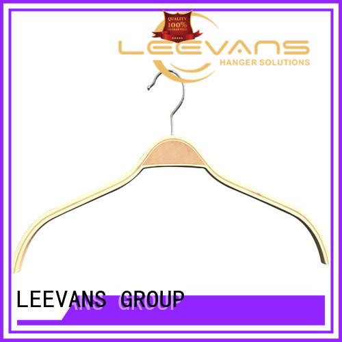 LEEVANS New wooden trouser hanger company for children