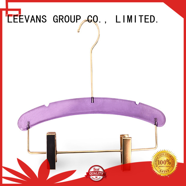 LEEVANS Best padded hangers factory for sweaters