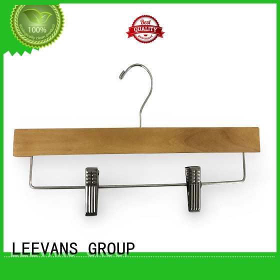 LEEVANS rubber where to buy wooden clothes hangers Suppliers for trouser