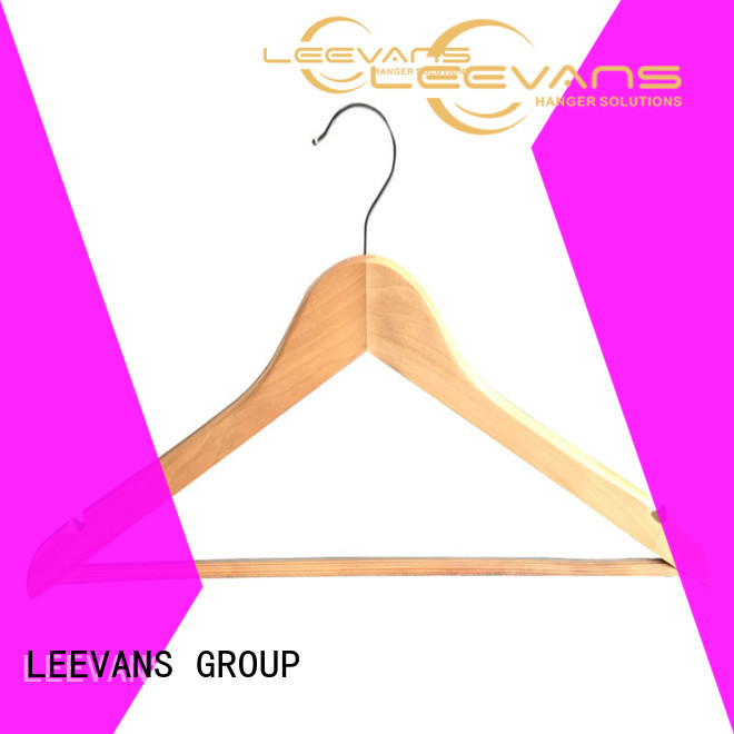 LEEVANS pants wooden jacket hangers Suppliers for kids