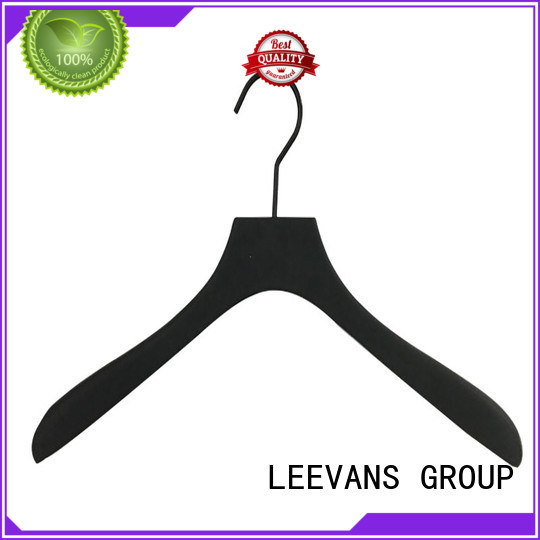 LEEVANS price wooden skirt hangers supplier for pants