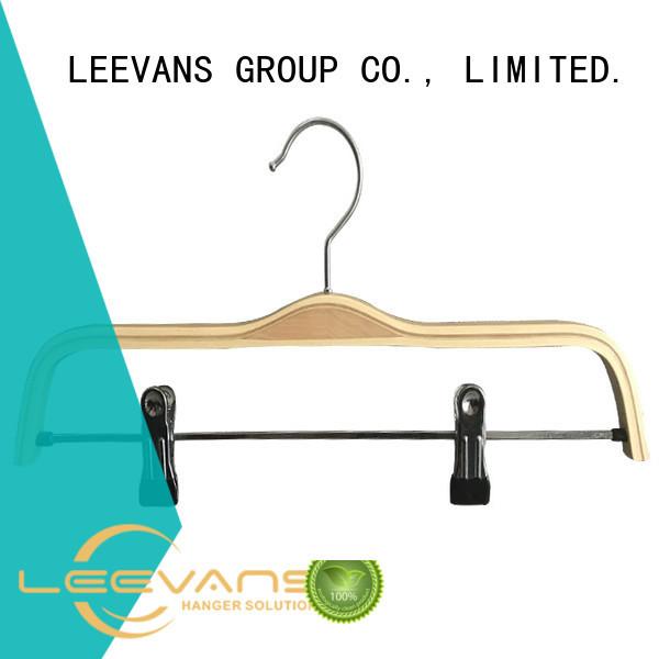 LEEVANS hot sale threshold wooden hangers extension for trouser
