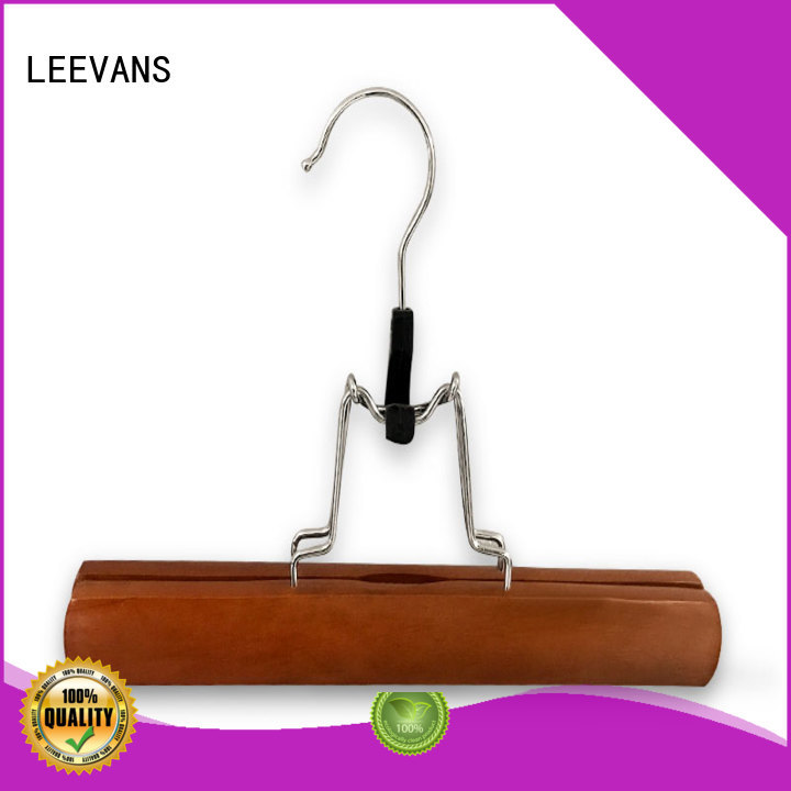 ultra wooden clothes hanger supplier for children LEEVANS