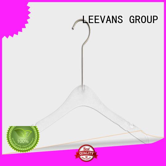 online modern clothes hangers manufacturer for jackets LEEVANS