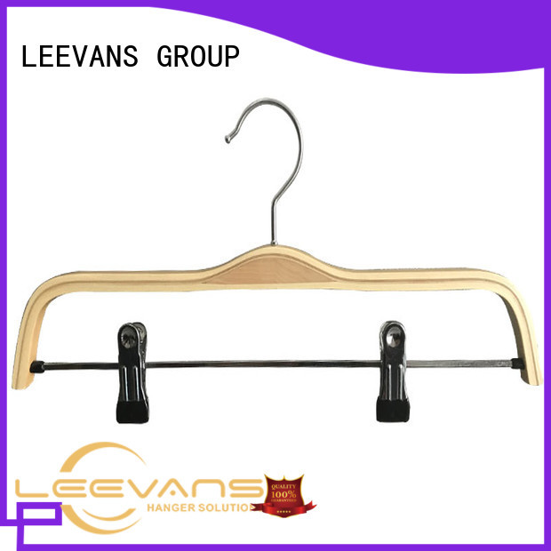 Latest wooden baby clothes hangers children factory for clothes