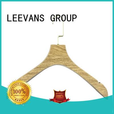 LEEVANS painting wooden trouser hanger for business for children