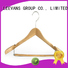 New slim wooden hangers customized for business for children