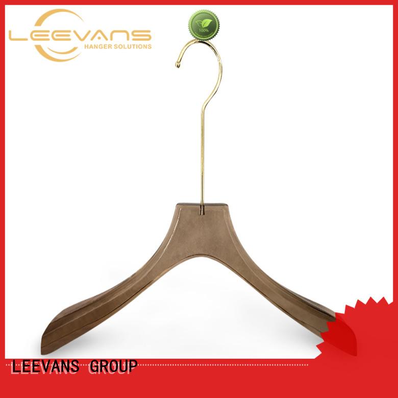 LEEVANS shoulder plastic coat hangers Suppliers for pant