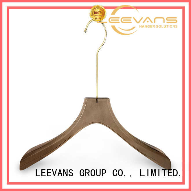 black clothes hangers supplier for T-shirts