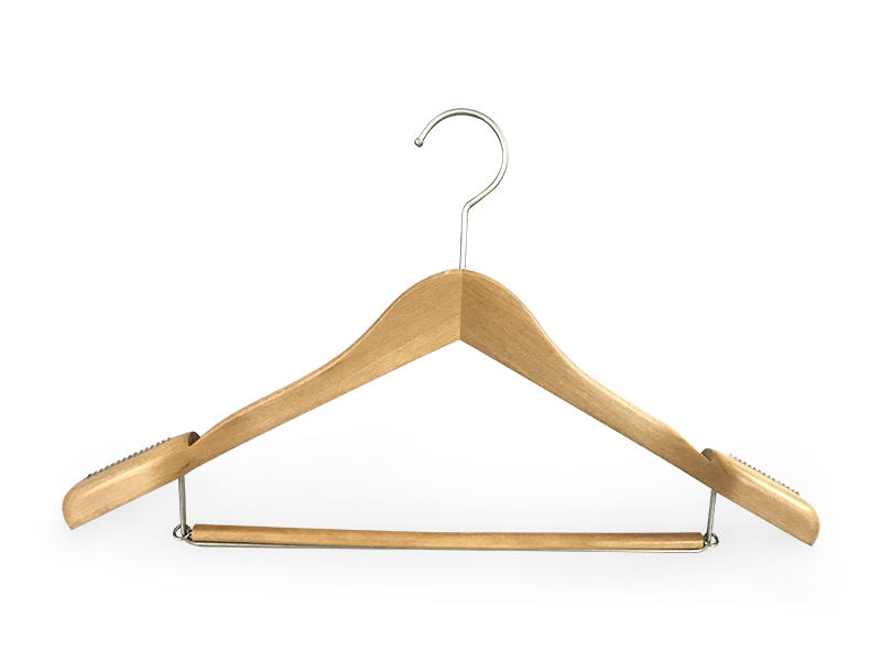 LEEVANS online thin wooden hangers finish for children-1