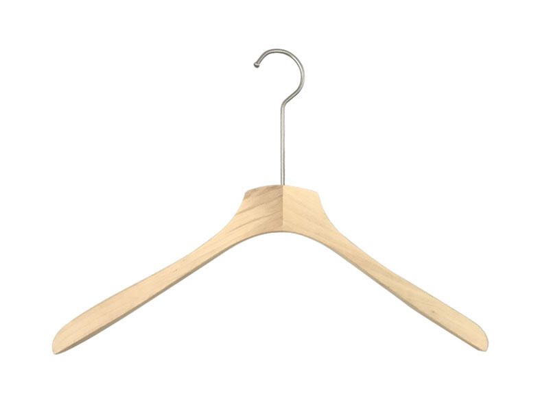 LEEVANS New dark wood coat hangers Supply for pants-1