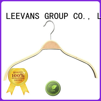 Wholesale white wooden clothes hangers luxurywooden Suppliers for skirt