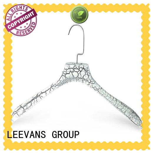 LEEVANS Latest wide wooden hangers for business for pants