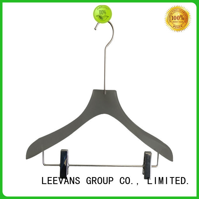 Wholesale custom coat hangers transparent manufacturers for pant